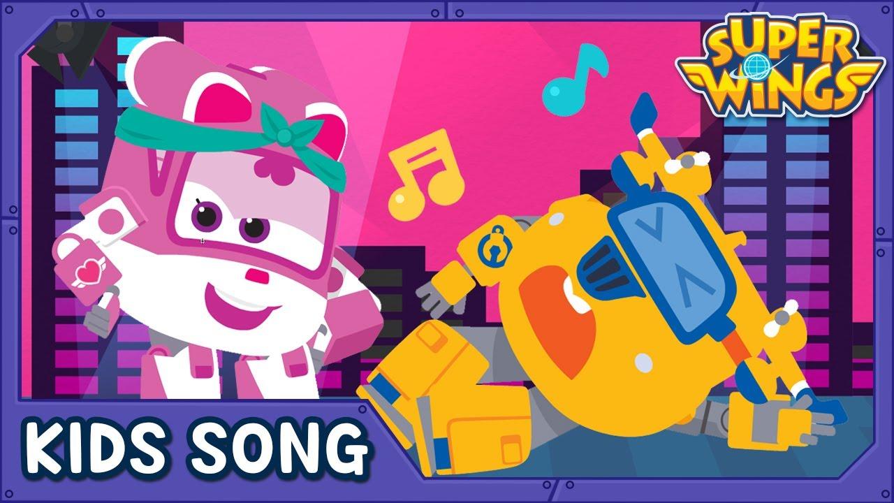 Can you dance? | Kids Songs | Nursery Rhymes | Super wings song