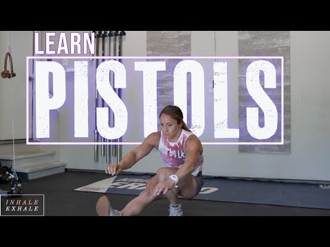 HOW TO DO PISTOLS / SINGLE LEG SQUATS