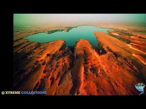 The Lakes of Ounianga in the Sahara Desert, Chad