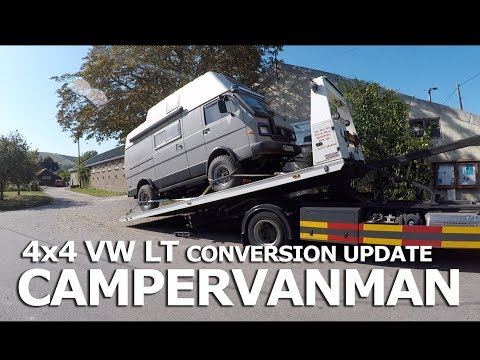 The transition is complete! - Walt the 4x4 VW LT - Self Build Journal - #19 - CamperVanMan