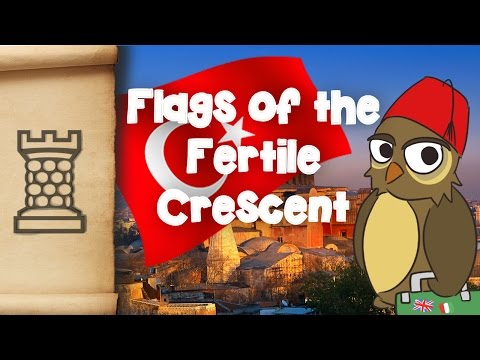 Flags of the Fertile Crescent Explained