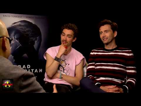 Exclusive Interview - David Tennant & Robert Sheehan on Bad Samaritan