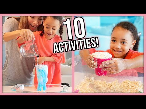 10 DIY Indoor Activities for Kids during Quarantine!