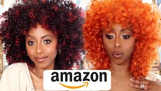 THESE WIGS ARE BOMB!😱 AMAZON WIG TRY ON HAUL   Jessica Pettway