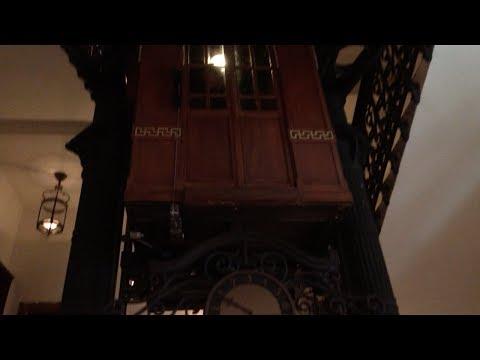 OLDEST ELEVATOR IN TURKEY: 1892 Schindler Elevator at Pera Palas Hotel in Istanbul, Turkey