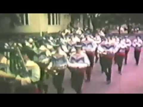 Shikellamy Marching Braves (May 1974 Shamokin Parade)