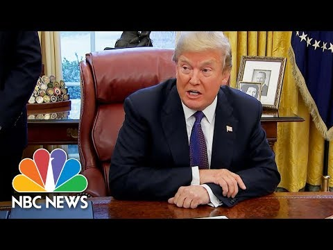 President Donald Trump Signs Measure, Imposing 30% Tariffs On Solar Panels | NBC News
