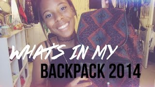 What's in my Backpack?! 2014 Thumbnail