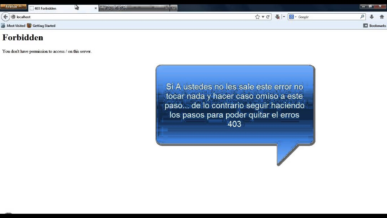 how to fix error 403 forbidden ubiquiti