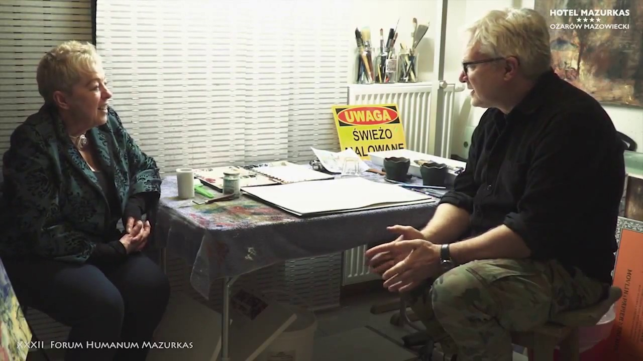 XXXII FHMazurkas-projekcja filmu o Krzysztofie Ludwinie i spotkanie  z kurator Janiną tuora