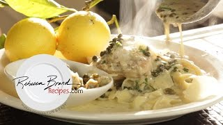 How To Make Creamy Chicken Piccata Pasta Fast And Easy!