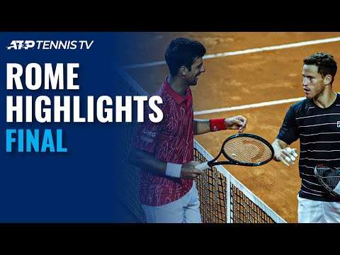 Novak Djokovic Vs Diego Schwartzman Rome 2020 Final Highlights Youtube