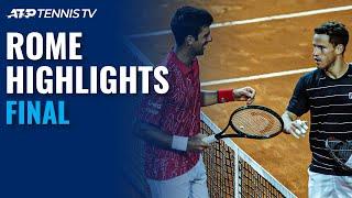 Novak Djokovic vs Diego Schwartzman | Rome 2020 Final Highlights