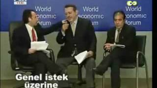 Turkey's Prime Minister Tayyip in Davos!! (Real version)