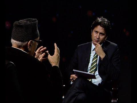 Dr. Prakash Chandra Lohani in TOUGH talk with Dil Bhusan Pathak