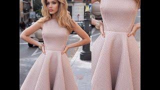Платье с юбкой солнце - клеш.