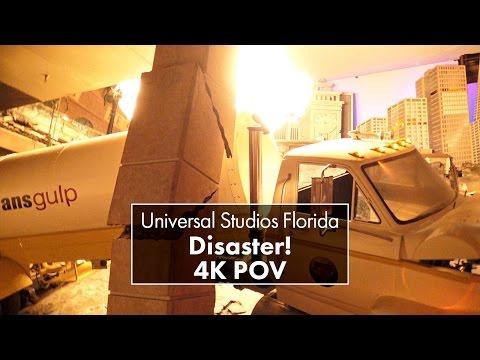 Disaster! | Universal Studios Florida | 4K POV