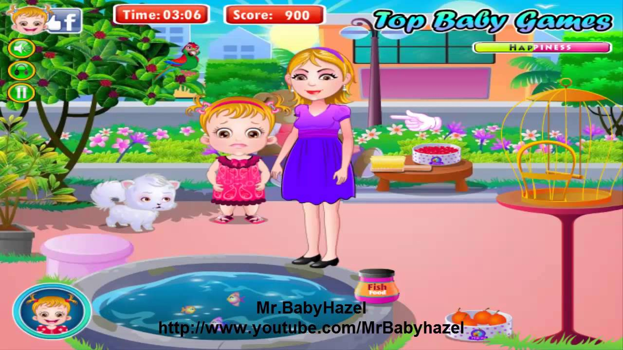 Baby hazel bed time youtube - Baby Hazel Parrot Animal Care Games Baby Movie Level 3