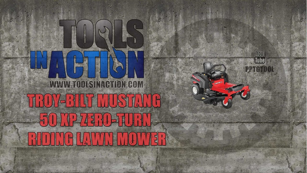 Troy Bilt Mustang 50 Xp Mustang Rzt Riding Lawn Mower