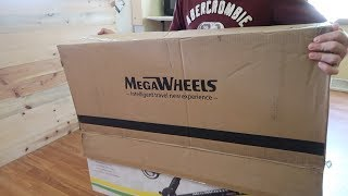MegaWheels Scooter VS Bosoted Board (REVIEW-UNBOXING)