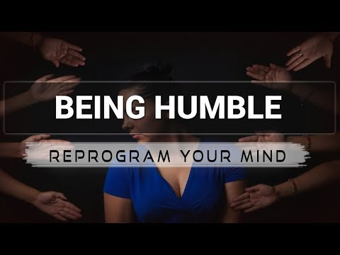 Being More Humble affirmations mp3 music audio - Law of attraction - Hypnosis - Subliminal