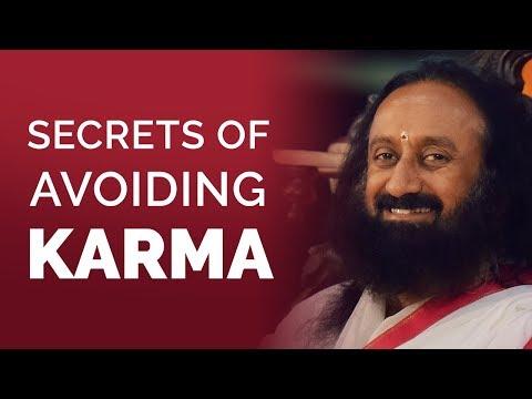 Secrets Of Avoiding Karma? | Gurudev Sri Sri Ravi Shankar | Hindi