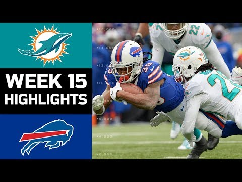 Dolphins vs. Bills | NFL Week 15 Game Highlights