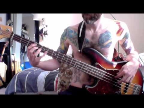 Bob Seger & The Silver Bullet Band Against The Wind (bass cover ...