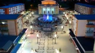 Fantana muzicala si Pietonala din Hunedoara 20 mai 2019