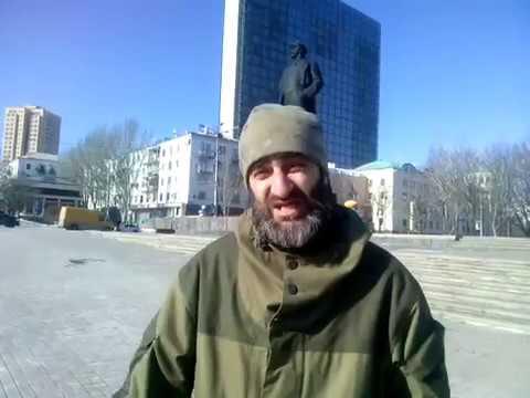 Milicianos españoles en Donetsk. 9-02-2017