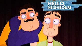 HELLO NEIGHBOR SONG (GET OUT) LYRIC VIDEO - DAGames ► РЕАКЦИЯ