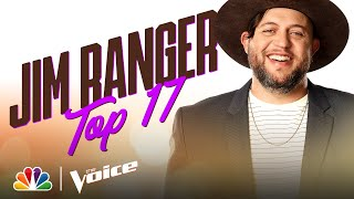 "Jim Ranger Performs Lee Brice's Country Tune ""Rumor"" - The Voice Live Top 17 Performances 2020"