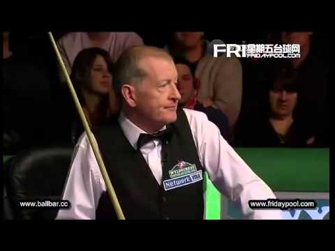 Darren Morgan vs Steve Davis - 2012 Senior World Championship-QF