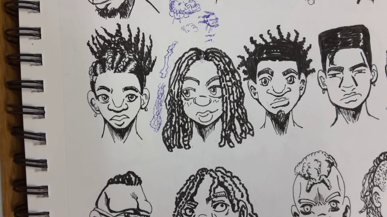 (reup) How To Draw (manga Style) Black People