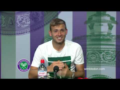 Dan Evans third round press conference