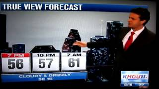 Silly weather guy! David Paul gets mixed up