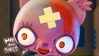 Desenho animado engraçado: Tempo de carregamento - Mad Box Zombies