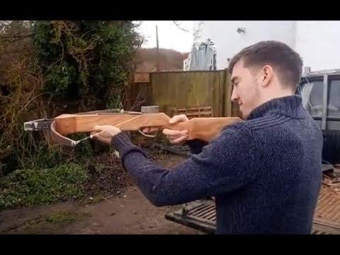 Home made crosbow carbine