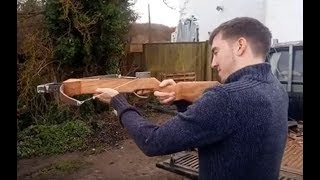 Home made crosbow carbine