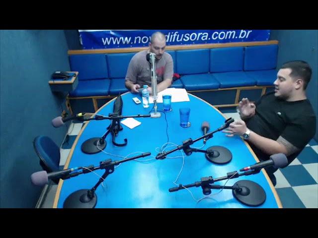 Programa Nova Esportes 08/01/2018 - Rádio Nova Difusora AM 1540