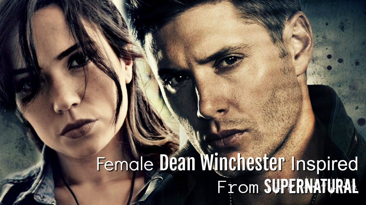 d72b951682f Dean Winchester (Supernatural) Makeup Tutorial (Female Style) - YouTube