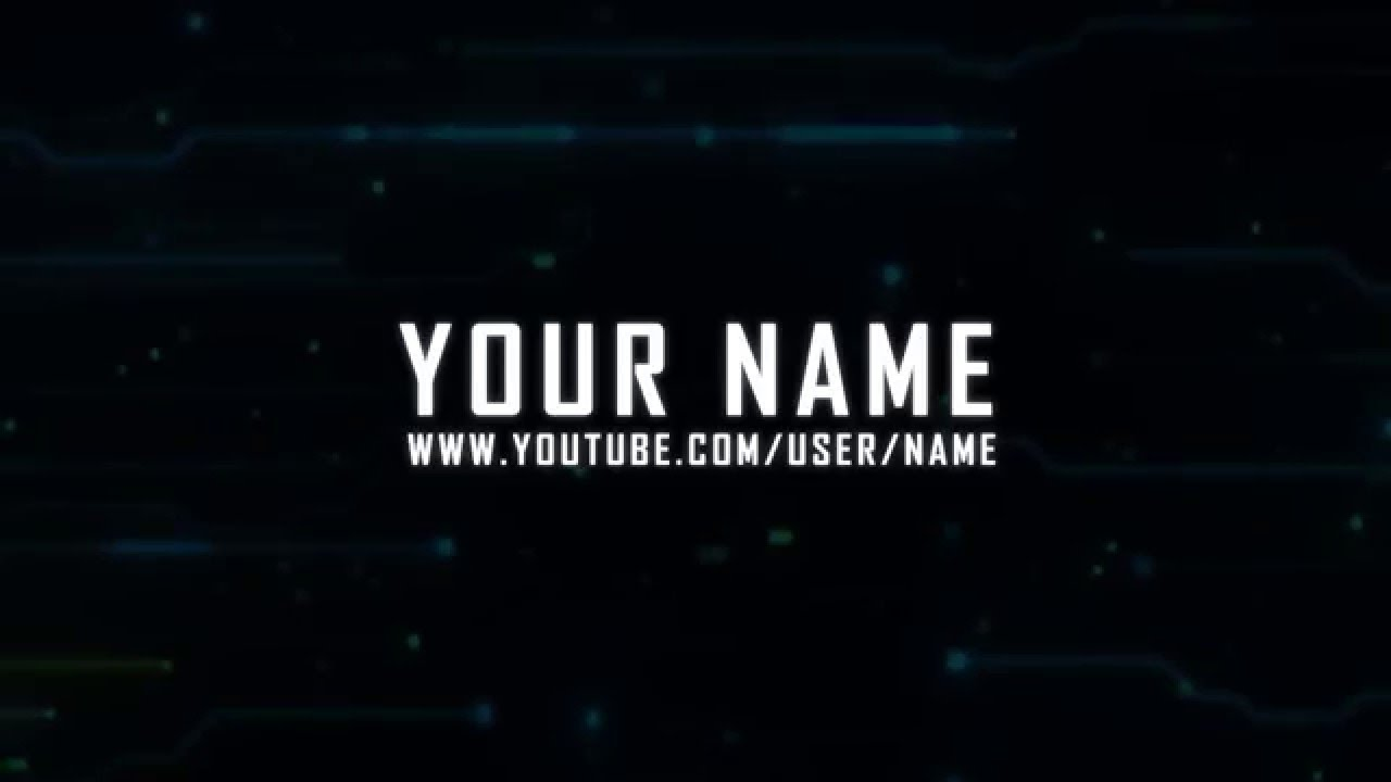 New Free Glitch Intro After Effects Template