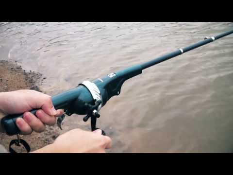 133cm Folding Mini Fishing Rod Foldable Telescopic Fighing Pole