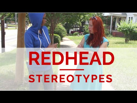 Redhead Stereotypes Does The Carpet Match The Drapes Youtube