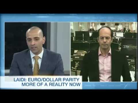 Ashraf on BNN: Euro-Dollar parity only a matter of time Chart