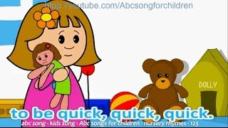 ABC songs-A for Apple Nursery rhymes-animation alphabet ABC poems for kids-Children Urdu Poem-School Chalo urdu song-Good Morning Song-Funny video Baby Cartoons - kids Playground S ...