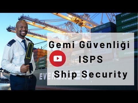 ısps-ship security- gemi güvenliği