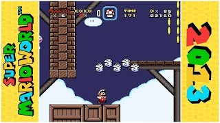 Whimsy Boo's Flying Ghost House | Super Mario World Hack