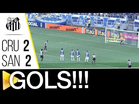 Cruzeiro 2 x 2 Santos | GOLS | Brasileirão (20/11/16)
