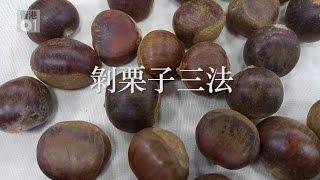 3種剝生栗子的方法|01教煮【教煮實驗室#01】 栗子 検索動画 28